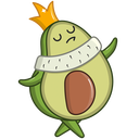 Advocado VK sticker #23