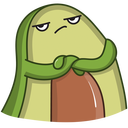 Advocado VK sticker #34