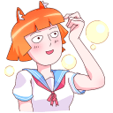 Aiko-chan VK sticker #38