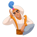 Aladdin and Friends VK sticker #19