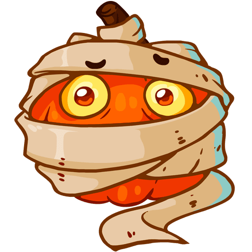 VK sticker Pumpkinween 5