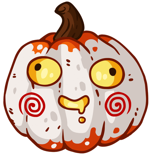 VK sticker Pumpkinween 10